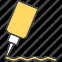 bottle, food, ingredients, mustard, seasoning, spice icon