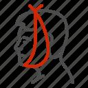 care, toothache, dental, bandage, head, man, avatar