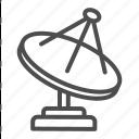 satellite, television, science, antenna, signal, reciever