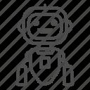 cyborg, future, technology, robot, avatar, hand, head