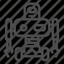 machine, robotic, robot, wheel, hand, cyborg, laboratory