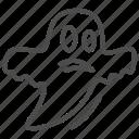 ghost, halloween, spooky, horror, cloth, fun, scary