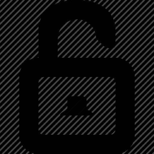 lock, open, password, unlock, unlocked icon
