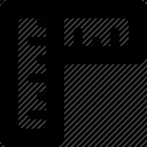 Measure, ruler, design, layout icon - Download on Iconfinder