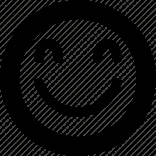 avatar, emoji, emoticon, emotion, happy, joy, smiley icon