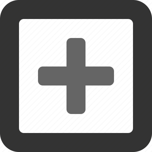 add, addition, more, new, plus, square icon