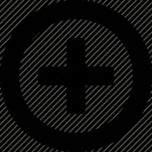 add, addition, circle, create, more, new, plus icon