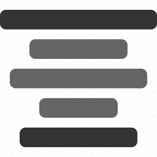 align, center, text, text alignment, typography icon