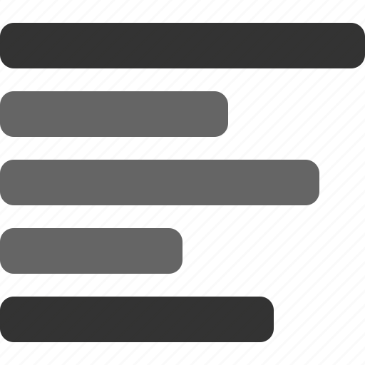 align, left, text, text alignment, typography icon