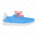 footwear, gumshoes, shoes, sneakers, sportswear icon