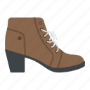 ankle boots, boots, fashion, footwear, shoes icon