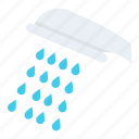 bath, bath sprinkler, bathroom, shower, shower head icon