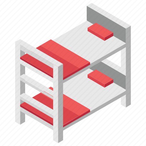 Bedroom, double deck bed, relax, room, sleep icon - Download on Iconfinder