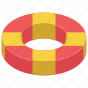life buoy, life ring, lifeguard, lifesaver, saver ring icon