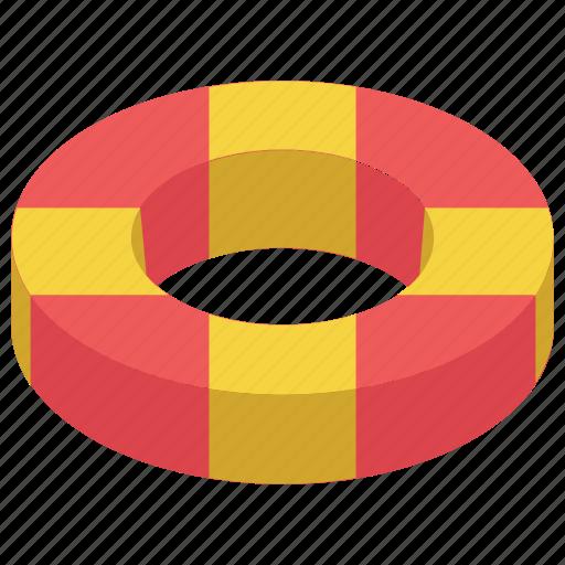 Life buoy, life ring, lifeguard, lifesaver, saver ring icon - Download on Iconfinder