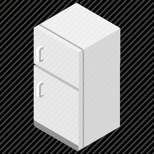Food preservation, fridge, fridge freezer, household appliance, refrigerator icon - Download on Iconfinder