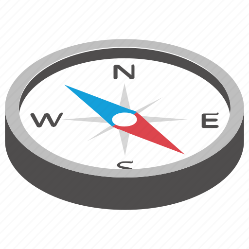 Compass, directional, geography, gps, navigation icon - Download on Iconfinder