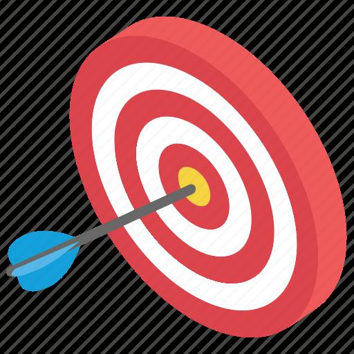 archery, business target, dartboard game, goal achievement, target achievement icon