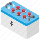 electric battery, power battery, power container, power energy, ups battery icon