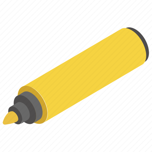 Ballpoints, colorful markers, highlighters, markers, pen icon - Download on Iconfinder