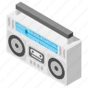 audio tape, cassette tape, compact cassette, music tape, tape icon
