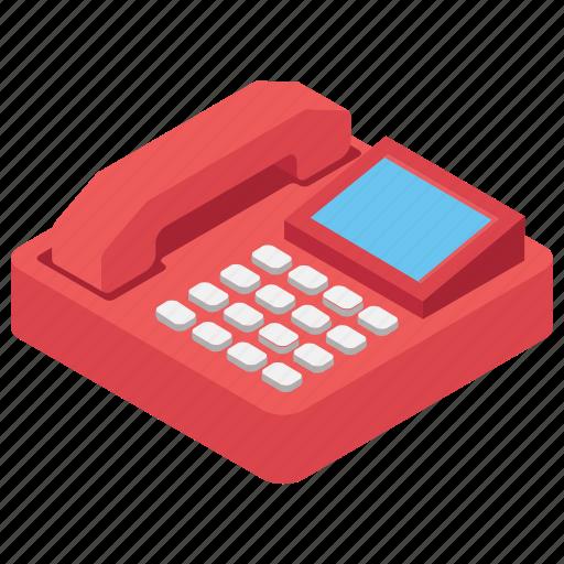 Call, communication, landline, phone, telephone icon - Download on Iconfinder