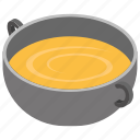 dinner bowl, food bowl, hot food, soup bowl, soup cup icon