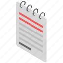 memo book, notebook, notepad, notes, writing pad