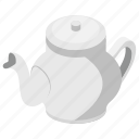 flask, tea container, tea kettle, teapot, thermos icon