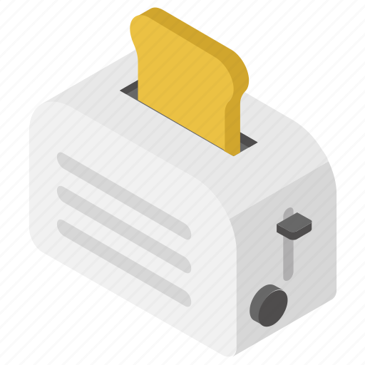 Bread toaster, oven, sandwich maker, toaster, toaster oven icon - Download on Iconfinder
