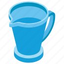 jug, water container, water jar, water jug, water mug icon