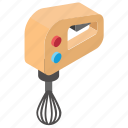 egg beater, electric beater, home appliance, kitchen utensil, whisk icon
