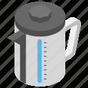 kitchen appliance, tea container, tea kettle, teapot, water boiler icon