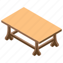 counter, desk, dinner table, furniture, table