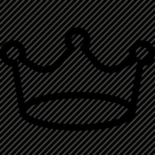 achievement, award, crown, prize, win icon