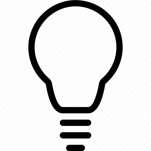 bulb, electricity, energy, light, lightning icon