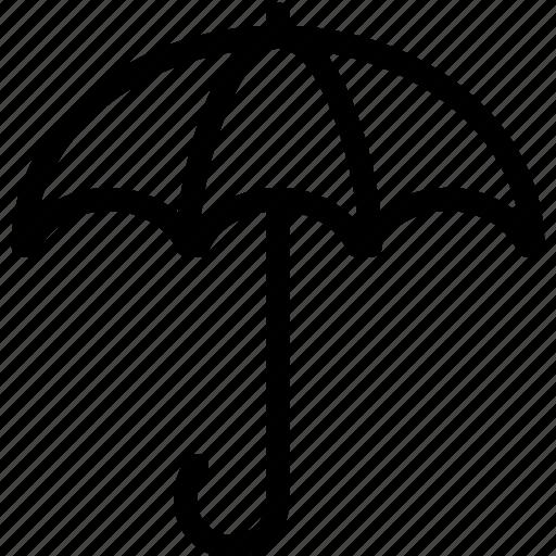 protect, protection, rain, safe, sun, umbrella icon