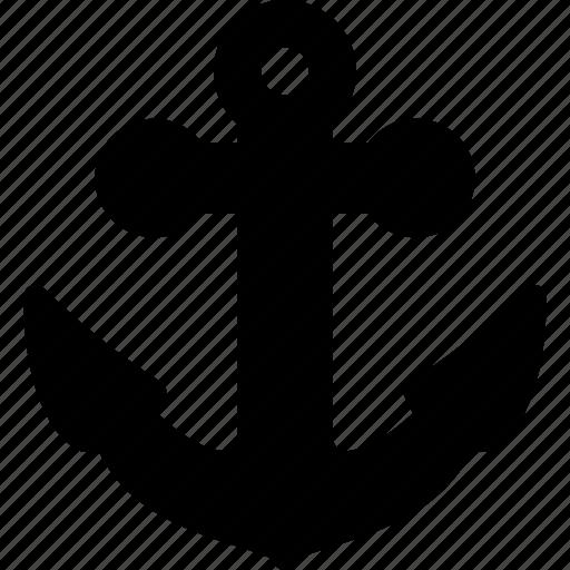 anchor, marine, nautical, sea, ship icon