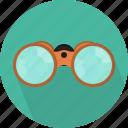 binoculars, field glasses, find, spy, tool, travel, zoom icon