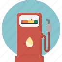 combustible, gas, pump, refill, refuel, station icon