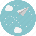 deliver, fly, game, message, paper, paper plane, send icon