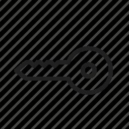 car, door, key, keys, lock, open, safety icon
