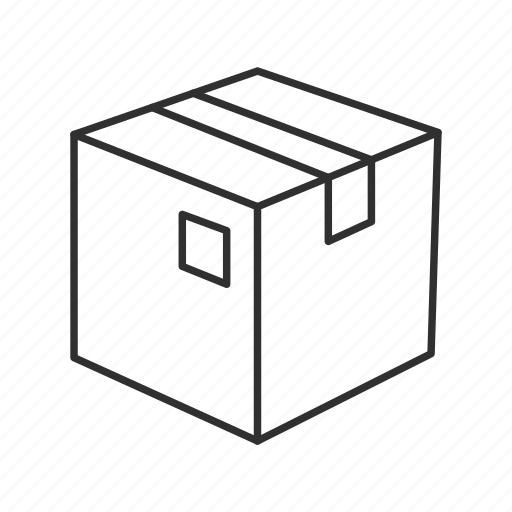 box, documents, files, office, pack, package, things in a box icon