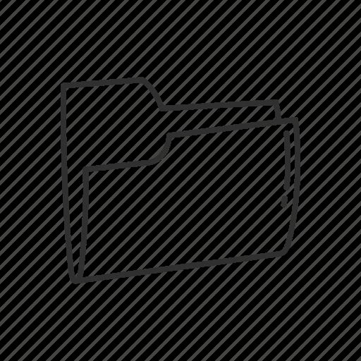 Archive, document, file, file folder, folder, stackfolder, manila folder icon - Download on Iconfinder