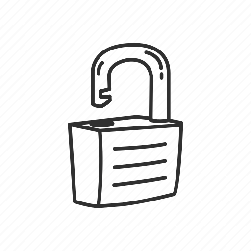 lock, padlock, protection, safe, secure, security, unlock icon