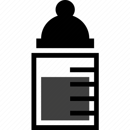 baby bottle, bottle, drink, milk, object, suck, water icon