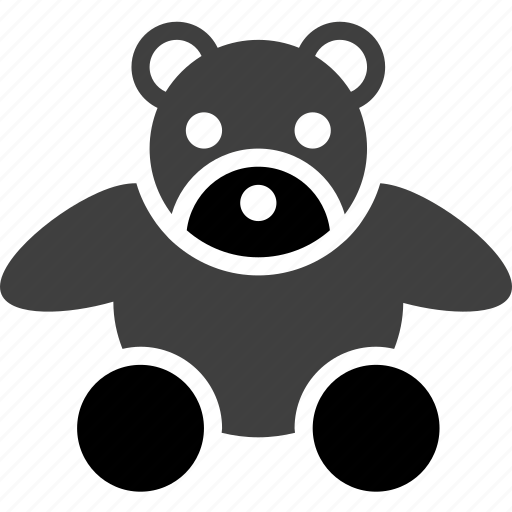 bear, child, kid, object, teddy bear, toddler, toy icon