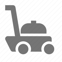 lawn, mower icon