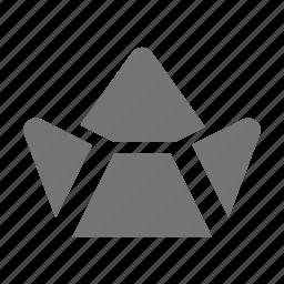 boat, paper boat icon