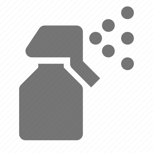 bottle, spray, water icon